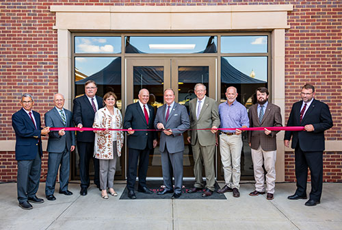 MSU faculty, administrators celebrate completion of Animal and Dairy Sciences Building